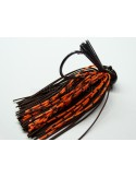 BASSPATROL JIG BROWN RUBBER/ORANGE SILICON