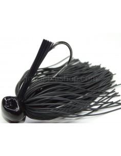 BASSPATROL JIG BLACK RUBBER