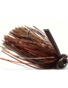 BASSPATROL JIG BROWN RED CRAW
