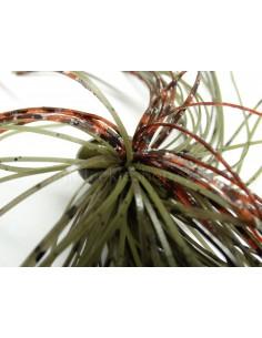 BASSPATROL JIG GREEN PUMPKIN CRAW SILICON