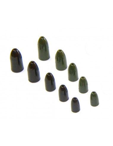 1/8 Oz.-Tungsten Worm Weights - 4Pk