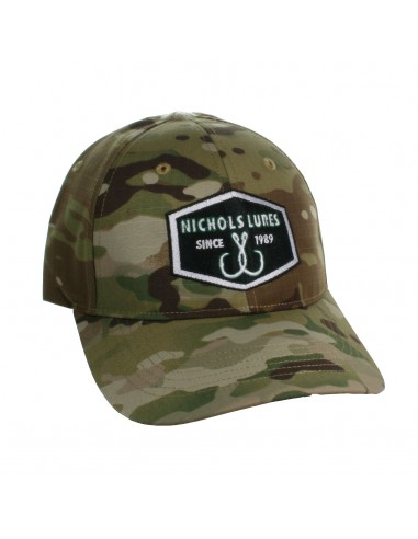 GORRA NICHOLS LURES HAND CRAFTED CAMO...